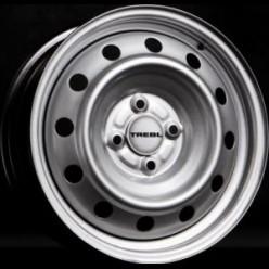 TREBL 53A38R 5.5x14/4x100 ET38 D54.1 Silver