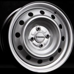 штамповка 5.5*14 4/100 43 60.1 TREBL 53A43C Silver